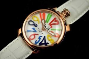 超人気美品  ガガミラノ 腕時計