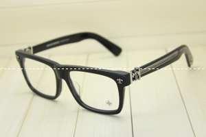 有名人の愛用品のメンズクロムハーツ メガネ 眼鏡 フレーム CHROME HEARTS 黒眼鏡.