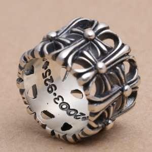 PW ステンレス CHROME HEARTS 人気定番爆買いクロムハーツ風 メンズ指輪 22996.