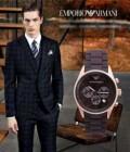 売れ筋!春夏  アルマーニ  日付表示 日本製クオーツ 6針 恋人腕時計