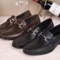 上品上質 2015 フェラガモ FERRAGAMO レザーシューズ靴 ビジネスシューズ 2色可選