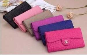 高級感あふれるアイテム chanel シャネル 大容量のある 二つ折り財布 6色可選.