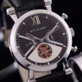ファッション 人気 2016 ブルガリ BVLGARI 機械式(自動巻き)ムーブメント ミネラルガラス 男性用腕時計 4色可選