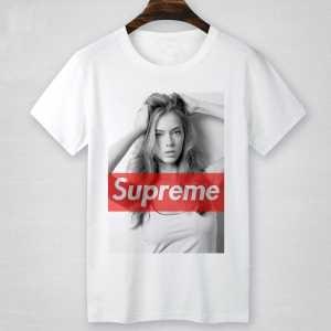 個性派 SUPREME プリントTシャツ シュプリーム 偽物 半袖 インナー トップス 2色可選