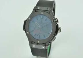 雑誌掲載のウブロ、Hublotの腕時計.