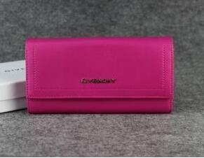 抜群な存在感があるGivenchy、ジバンシィの超激得品質保証の赤いレディース2折り長財布.