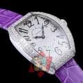 綺麗に決まるフォルム! 2017春夏 フランクミュラー FRANCK MULLER 多色選択可 ダイヤベゼル 腕時計