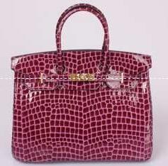 光沢感があるエルメスコピー、Hermesの数量限定定番な赤いレディースハンドバッグ.