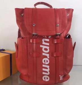 トレンドファッション シュプリーム 偽物 SUPREME リュックサックバッグバックパックレッド