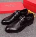 足元を軽快に見せるフェラガモメンズロファー FERRAGAMO紳士靴ビジネスシューズブラウン