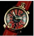 本田圭佑選手が愛用しているガガミラノ 腕時計 GaGaMILANO マヌアーレ 40MM プラカット オロ  時計GG-5021.2