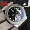 機械式(自動巻き)ムーブメント 今シーズン注目のアイテム 男性用腕時計 多色可選 ウブロ HUBLOT 最高級品質