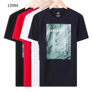 人気急上昇中アルマーニコピーARMANIメンズプリントクルーネック半袖Tシャツ今年大流行