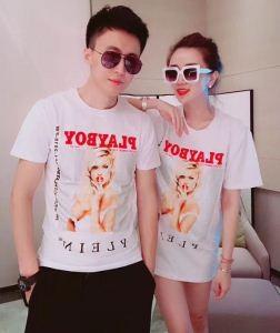 激安大特価2018フィリッププレインコピーPHILIPP PLEIN男女兼用クルーネック半袖Tシャツ黒、白