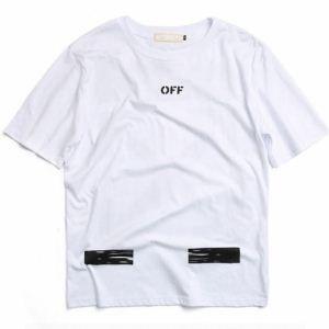 半袖Tシャツ雰囲気が違う Off-White オフホワイト2色可選お洒落アイテム