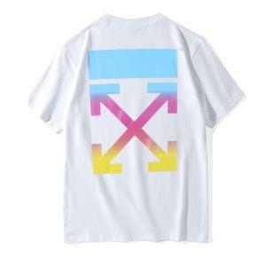 最落なし! 希少!  2色可選2018新品半袖TシャツOff-White オフホワイト