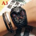 優しげな雰囲気HUBLOTメンズ時計ウブロ腕時計精緻二つ色可選択自動巻き腕時計独特的なデザイン感