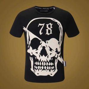 トレンドアイテム 2色可選 数量限定販売 半袖Tシャツ フィリッププレイン PHILIPP PLEIN   激安セール