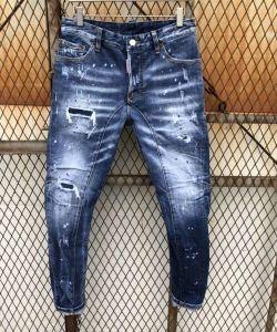 HOT品質保証合わせやすいシルエットジーンズ動きやすいフィット感良質ストレッチデニムパンツディー スクエアー ド コピー