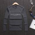 ドルチェ & ガッバーナ コピーソフト優しい肌触りお勧め手頃tシャツ爆買い大得価ブラックホワイト男性用長袖tシャツ
