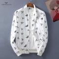 お得限定セールメンズホワイトブラックアルマーニ 偽物上品な素材感オシャレストレッチストレスフリージャケット