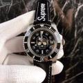 シュプリーム コピー 販売シンプルなデザイン光沢感高級感オススメ腕時計お買い得セールファッションブラックウォッチ