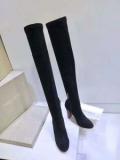 ジミーチュウ 靴 コピー激安大特価品質保秋冬対応レディースブーツ大人っぽいシンプルブラックロングブーツ