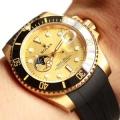 可愛いすぎる 輸入機械式(自動巻き)ムーブメント 抜群の着心地 男性用腕時計 多色選択可 万能に使える ロレックス ROLEX 2018新品セール