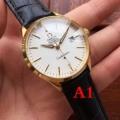 新作入荷本物保証フォーマル腕時計4色展開OMEGAオメガ 腕時計 人気レザーベルトカジュアルビジネスマン