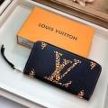 ルイヴィトン 長財布 人気 今季のファッションブームになったコレクション新作 レディース ジッパー ロゴ入り コピー 最低価格