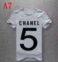 シャネル CHANEL  半袖Tシャツ 2019春新色コスメ人気ブランド  抜け感のあるスタイルが完成