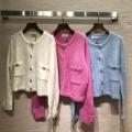 3色可選 簡単にコーデをおしゃれに演出   シャネル CHANEL 落ち着いた秋冬ファッションを楽しむ ウールコート 普段使いもオフィスもOK