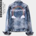 デニムジャケットトレンドライクになりがち DSQUARED2 ディースクエアード ナチュラルコーデに使いやすい