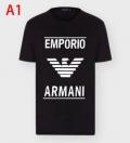 多色可選 2020年の春夏はこれ! アルマーニ ARMANI 1枚でグッと華やかに 半袖Tシャツオシャレな軽やかさで魅力