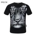 さりげなく華やかに  多色可選 フィリッププレイン PHILIPP PLEIN コーデに新しさが混在する 半袖Tシャツ