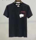 2色可選  身軽におしゃれを楽しむ 半袖Tシャツ 上級者向けなイメージある Off-White オフホワイト