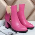 ヴァレンティノ 秋冬 サイズ豊富 太ヒール 脚長美脚効果がある ブーツ レディース