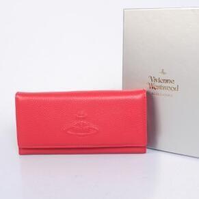 最安値に挑戦するヴィヴィアン ウエストウッド コピー、Vivienne Westwoodの二つ折りレディース長財布.