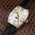 高品質 人気 FRANCK MULLER フランクミュラー 2017春夏 3色可選 星辰月相显示 男性用腕時計