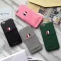 トムブラウン 4色可選 2017春夏人気が爆発  iPhone6/6s ケース カバー THOM BROWNE