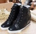 激安大特価爆買いクロムハーツ スニーカー コピー ブラック メンズ ハイカット靴 約23cm オールスター CHROME HEARTS.