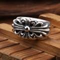 人気アイテムCHROME HEARTSクロムハーツスーパーコピー 指輪 リング フローラルクロスリング SV925 シルバー 指輪