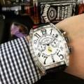 今季注目 オリジナル クオーツ?ムーブメント フランクミュラー FRANCK MULLER  男性用腕時計 2色可選