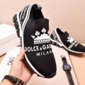 大胆なスリット上品 Dolce&Gabbana ドルチェ&ガッバーナ  2色可選 ランニングシューズ 最落なし! 希少!