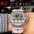 3色選択可 2018新品セール ウブロ 大人気新作 HUBLOT さりげないデザイン 男性用腕時計 抜群の着心地