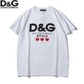 ドルチェ&ガッバーナ 通販黒白純綿通気性吸汗性tシャツDOLCE & GABBANA*D&GスタイルTシャツ38816240