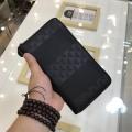 ファッション人が絶対にお手に入れるコレクション新作 アルマーニ EMPORIO ARMANI ブラック メンズ ジップ長財布 コピー