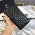 ヴェルサーチ VERSACE メンズ 長財布 ジッパー 高く注目されたコレクション新作 GRECA ARGYLE スーパーコピー ブラック