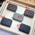 ルイ ヴィトン コピー 激安 財布 メンズ ジッパー 今季で一番人気を集まったコレクション Louis Vuitton 5色選択可 最安値