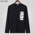 2019秋冬の必需品 アルマーニ ARMANI 長袖Tシャツ 2色可選 秋冬の季節感を取り入れたい時におすすめ